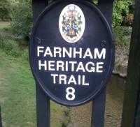 Heritage Trail plaque 8
