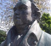 William Cobbett bust Farnham museum