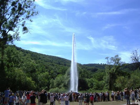 Water, geyser, Andernach,